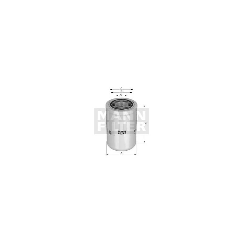 WH980 Filtr Hydrauliczny MANN