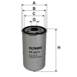 PP837/1 Filtr Paliwa Filtron