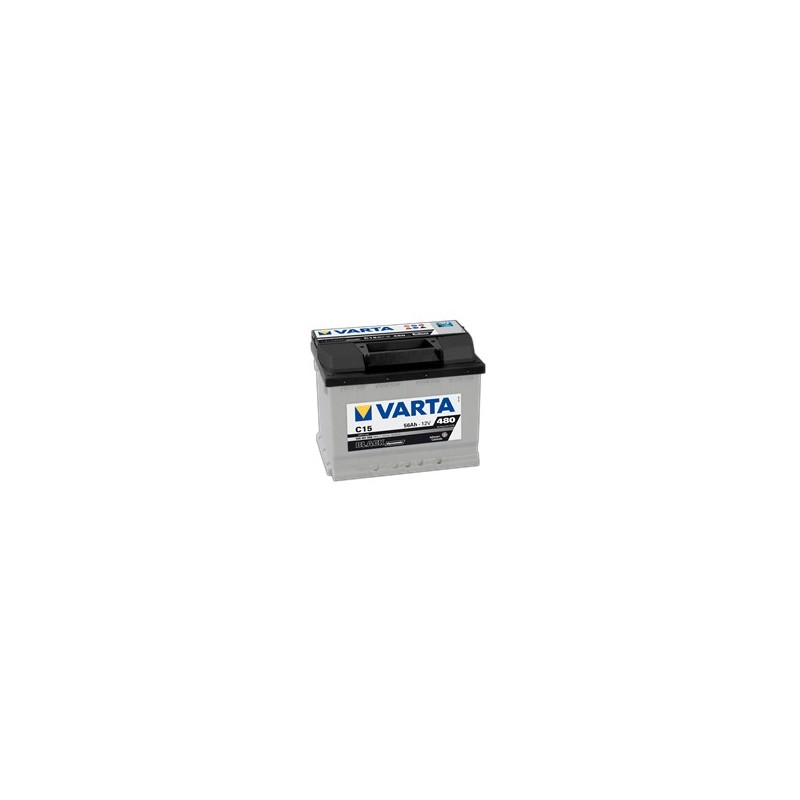 AKUMLATOR VARTA BLACK  C15  12V  56Ah  480A L+