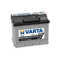 AKUMLATOR VARTA BLACK  C14  12V  56Ah  480A P+