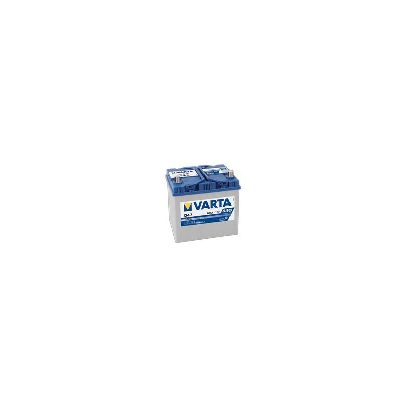 AKUMULATOR VARTA BLUE  D47  12V  60Ah  540A P+