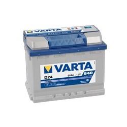 AKUMULATOR VARTA BLUE  D24  12V  60Ah  540A P+