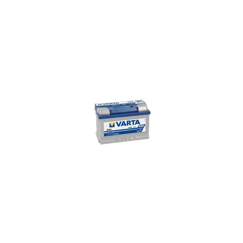 AKUMULATOR VARTA BLUE  E43  12V  72Ah  680A P+