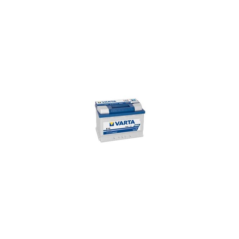 AKUMULATOR VARTA BLUE  E12  12V  74Ah  680A L+
