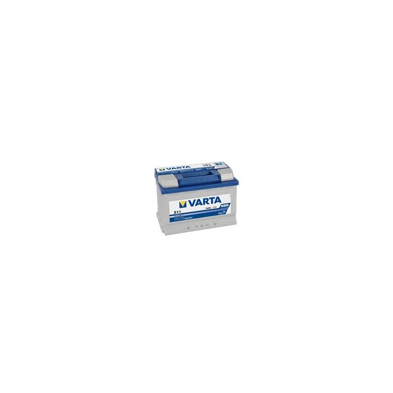 AKUMULATOR VARTA BLUE  E11  12V  74Ah  680A P+