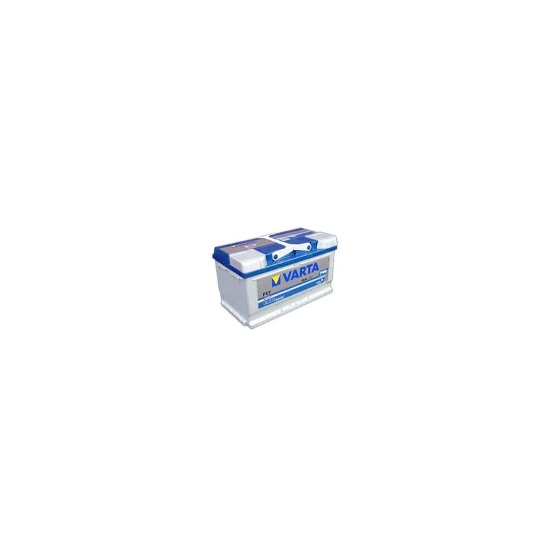 AKUMULATOR VARTA BLUE  F17  12V  80Ah  740A P+