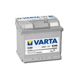 AKUMULATOR VARTA SILVER  C30  12V  54Ah  530A P+