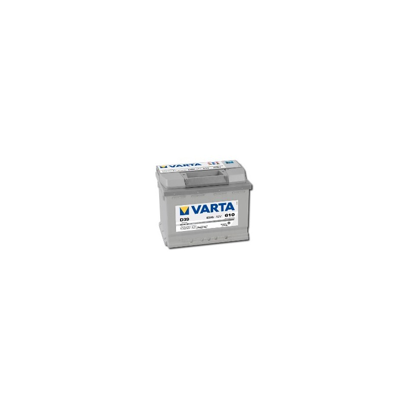 AKUMULATOR VARTA SILVER  D39  12V  63Ah  610A L+