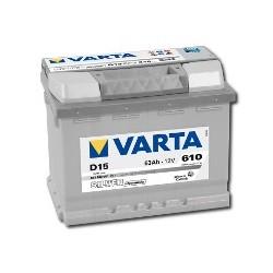 AKUMULATOR VARTA SILVER  D15  12V  63Ah  610A P+