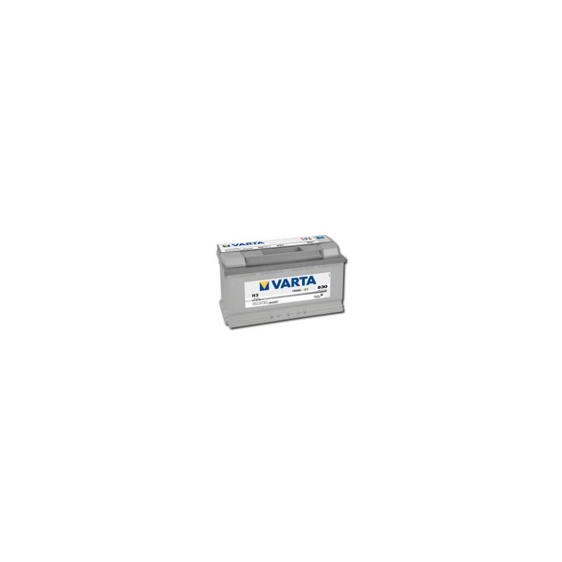 AKUMULATOR VARTA SILVER  H3  12V  100Ah  830A P+