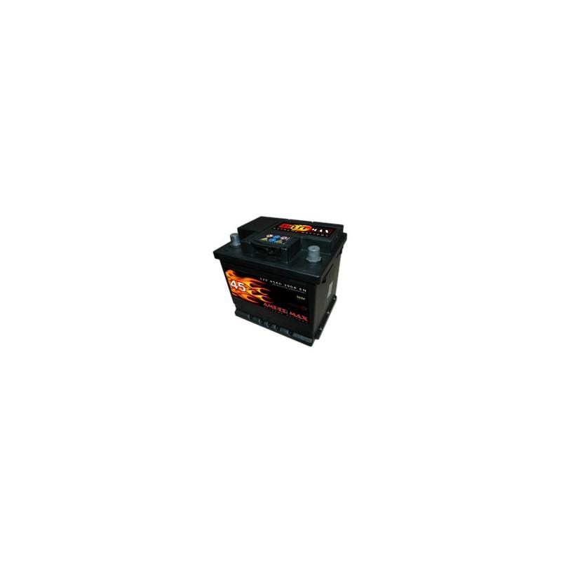 AKUMULATOR AMPER MAX  AM45L  12V  45Ah  390A L+