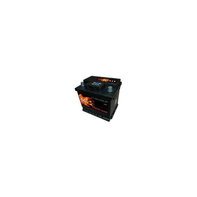 AKUMULATOR AMPER MAX  AM50P  12V  50Ah  420A P+