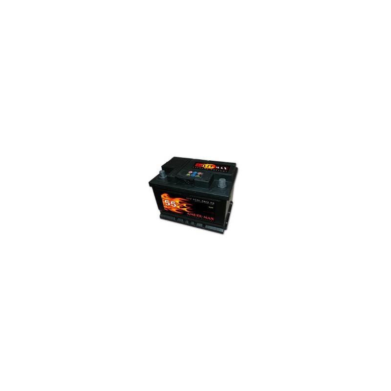 AKUMULATOR AMPER MAX  AM55L  12V  55Ah  480A L+