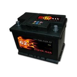 AKUMULATOR AMPER MAX  AM62P  12V  62Ah  510A P+