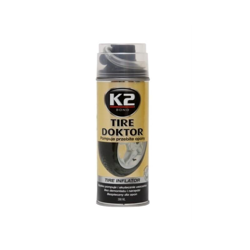 POMPUJE PRZEBITE KOŁA K2 TIRE DOKTOR - 398 ml