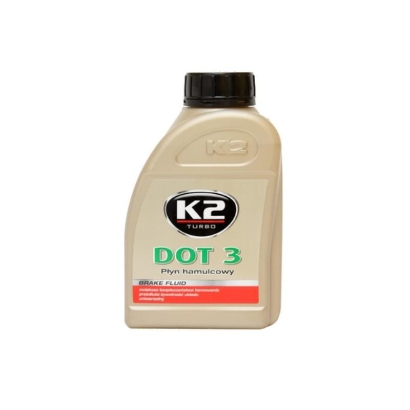 PŁYN HAMULCOWY K2 DOT3 - 500 g