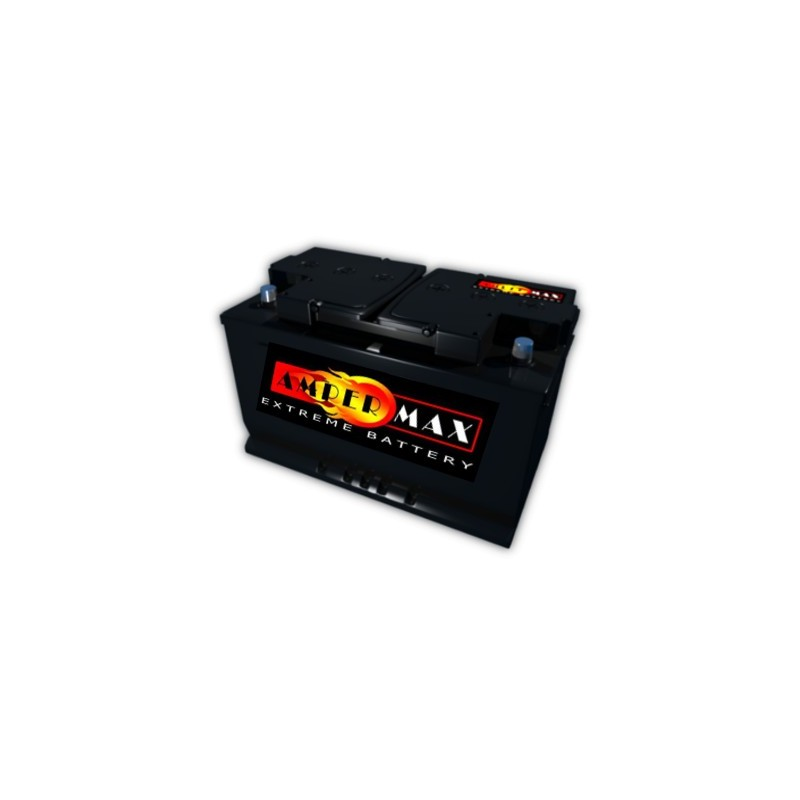 AKUMULATOR AMPER MAX  AM80PP  12V  80Ah  680A P+